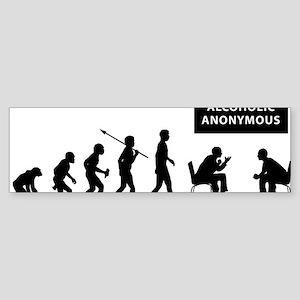 Alcoholic-Anonymous Sticker (Bumper)