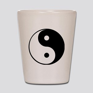 Yin and Yang Shot Glass