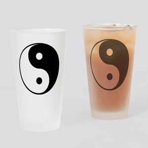 Yin and Yang Drinking Glass