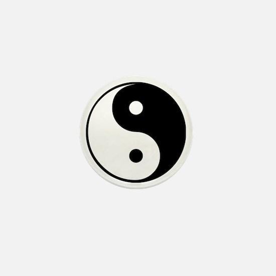 Yin and Yang Mini Button