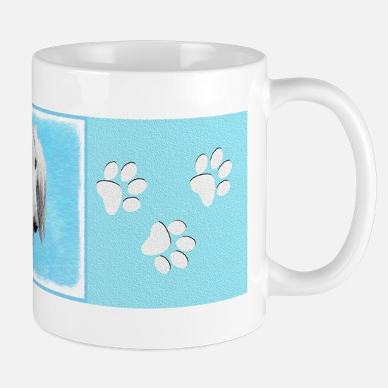 Saluki (Silver and White) Mug