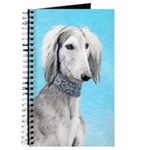 Saluki (Silver and White) Journal