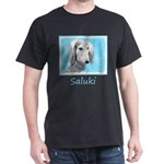 Saluki (Silver and White) Dark T-Shirt