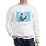Saluki (Silver and White) Sweatshirt