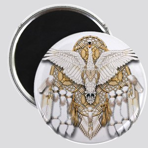 Native American Swan Mandala Magnet
