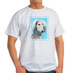 Saluki (Silver and White) Light T-Shirt