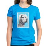 Saluki (Silver and White) Women's Dark T-Shirt