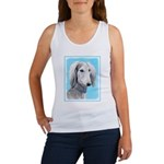 Saluki (Silver and White) Women's Tank Top