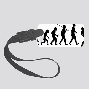Guitar-Player-02 Small Luggage Tag