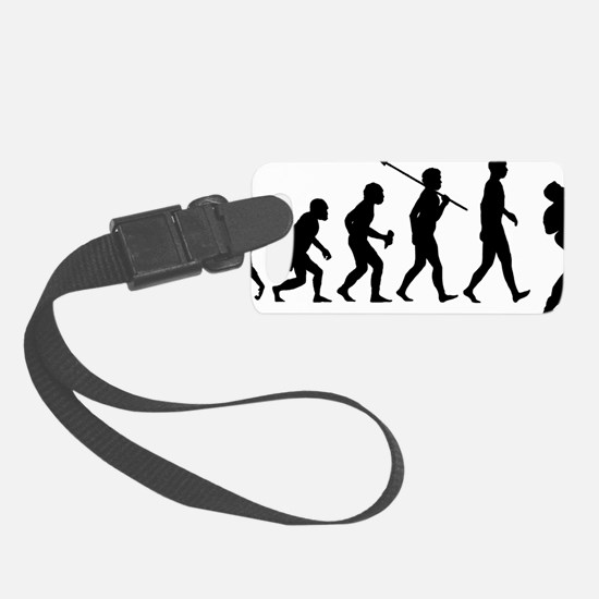 Guitar-Player-02 Luggage Tag