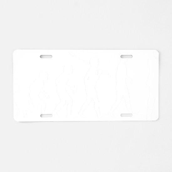 Auctioneer1 Aluminum License Plate