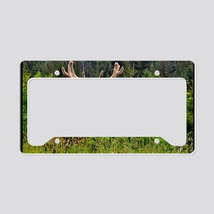 Elk Chompers License Plate Holder