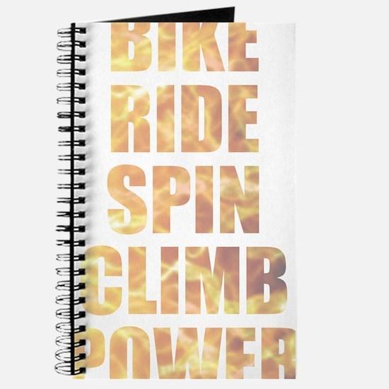 Bike Ride Power Journal