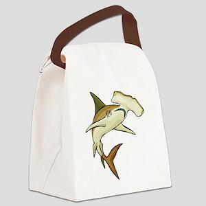gfShark68 Canvas Lunch Bag