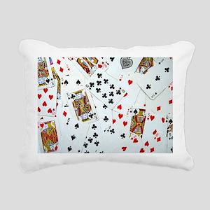Playing Cards Rectangular Canvas Pillow