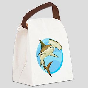 gfShark69 Canvas Lunch Bag