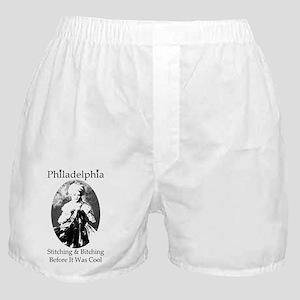Philadelphia - Home of Bitch and Stit Boxer Shorts