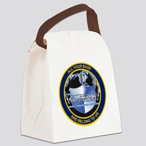 Cyber_Junk seal Canvas Lunch Bag