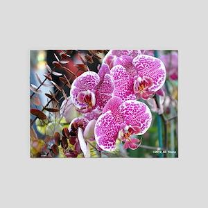 Orchid Spray 5'x7'Area Rug