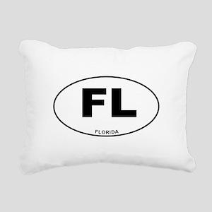 Florida State Rectangular Canvas Pillow