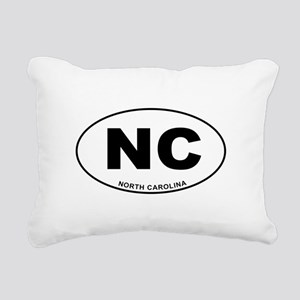 North Carolina State Rectangular Canvas Pillow