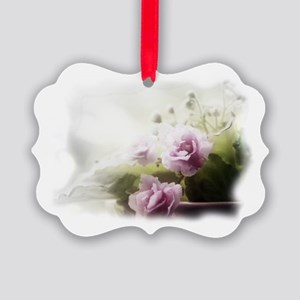 Violet ~Faithfully~ Picture Ornament