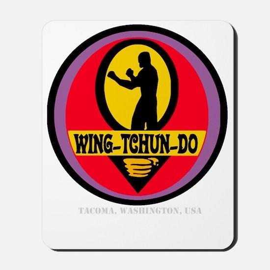 WTD WHT Mousepad