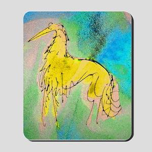 Borzoi/Silken Gold Mousepad