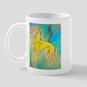 Borzoi/Silken Gold Mug