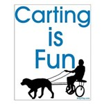 Carting is Fun Small Poster