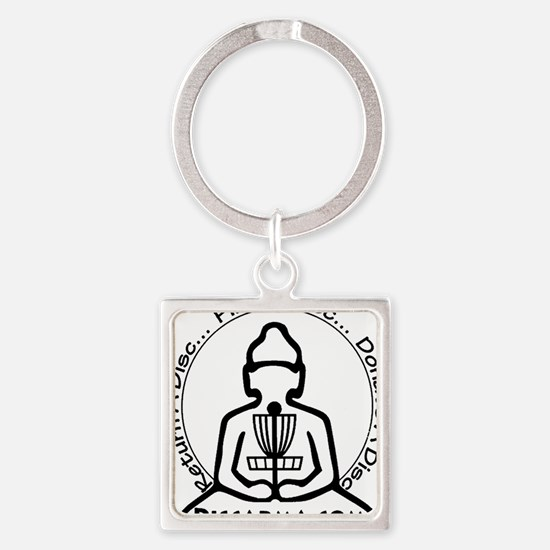 discarma logos png Square Keychain