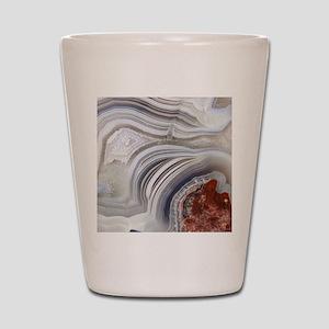 agate Shot Glass