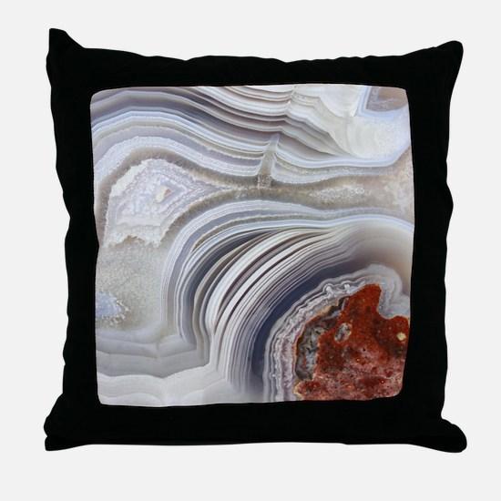 agate Throw Pillow