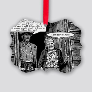 Dirt Farmers for Limbaugh Picture Ornament