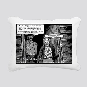 Dirt Farmers for Limbaug Rectangular Canvas Pillow