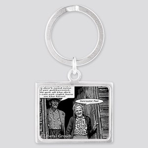 Dirt Farmers for Limbaugh Landscape Keychain