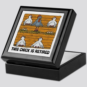 Retired Chick Keepsake Box