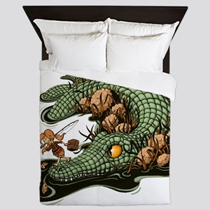 Gone Fishin Queen Duvet