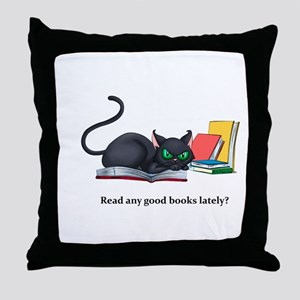 Read any good books lately? Throw Pillow