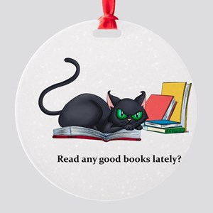 Read any good books lately? Round Ornament