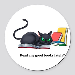 Read any good books lately? Round Car Magnet