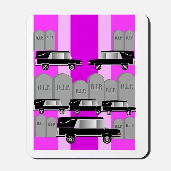 funeral director 3 Mousepad