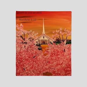 Matthew 6:33 Throw Blanket