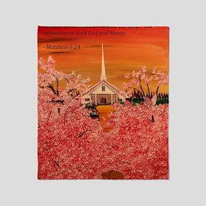 Matthew 6:24 Throw Blanket