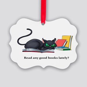 Read any good books lately? Picture Ornament