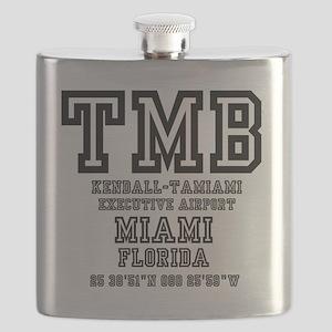 AIRPORT JETPORT  CODES - TMB - KENDALL-TAMIA Flask