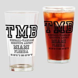 AIRPORT JETPORT  CODES - TMB - KEND Drinking Glass