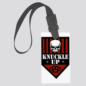 OFFICIAL Shield of Knuckle Up Large Luggage Tag