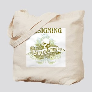 Designing Solves Everything Tote Bag