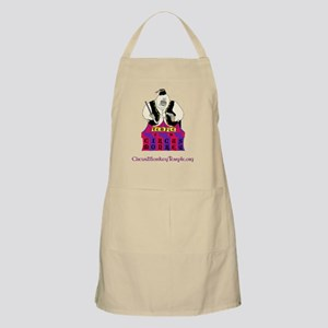 Temple of the Circus Monkey full color logo Apron